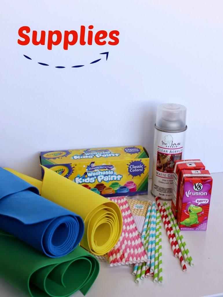 Juice Box Boats Kids Summer Craft I Dig Pinterest