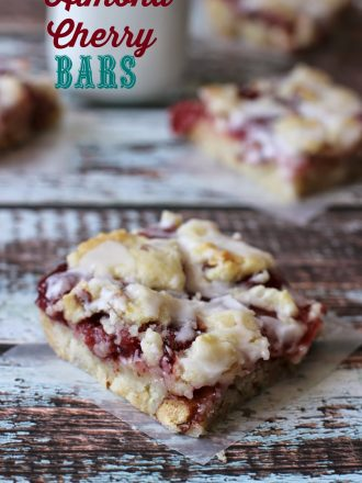 Almond Cherry Bars: July Mystery Dish