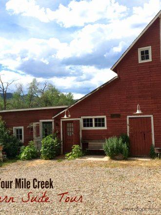 Four Mile Creek Bed & Breakfast Home Tour: Part 2 (Barn Suite)