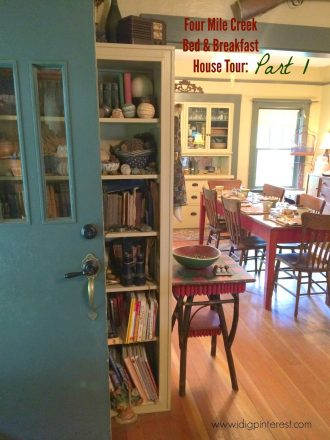Four Mile Creek Bed & Breakfast Home Tour: Part 1