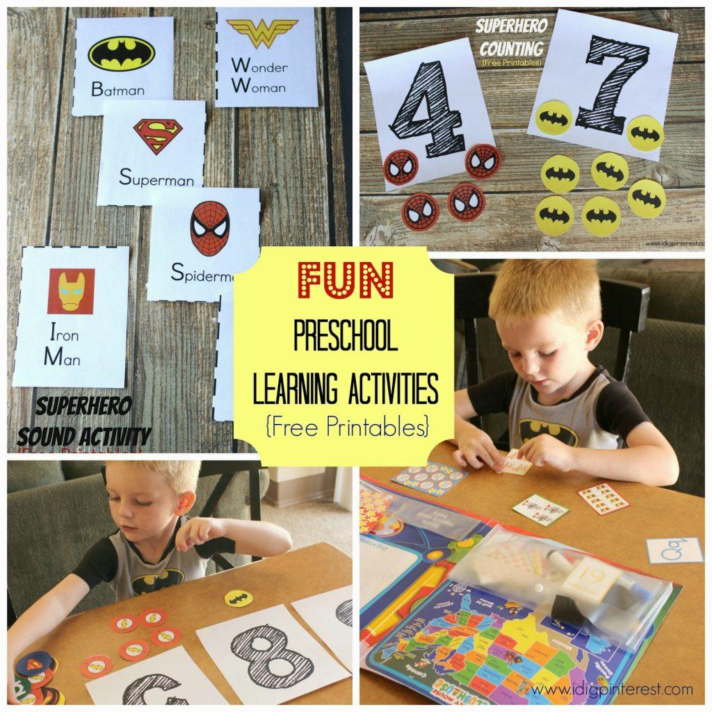 Make Learning Fun with Disney Jr , Preschool Superhero