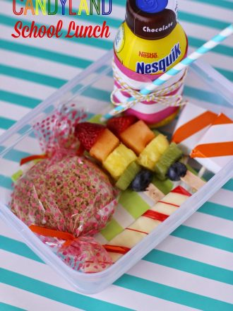 Candyland-Themed School Lunch Box