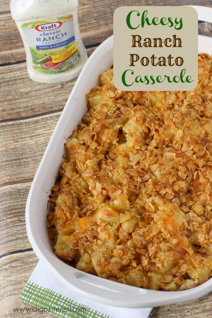 Cheesy Ranch Potato Casserole: A Salad Dressing Recipe to ...