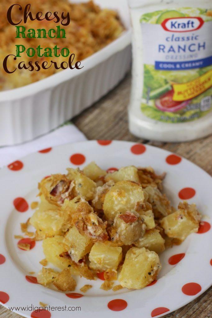 Cheesy Ranch Potato Casserole: A Salad Dressing Recipe to Rock Your ...