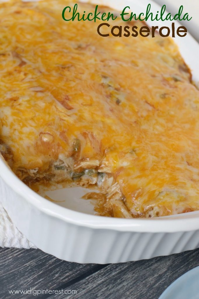 Cream of chicken soup casserole