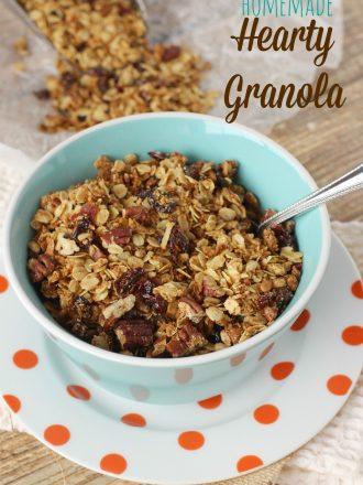 Homemade Hearty Breakfast Granola
