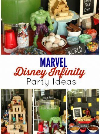 Marvel Disney Infinity Games Party Ideas