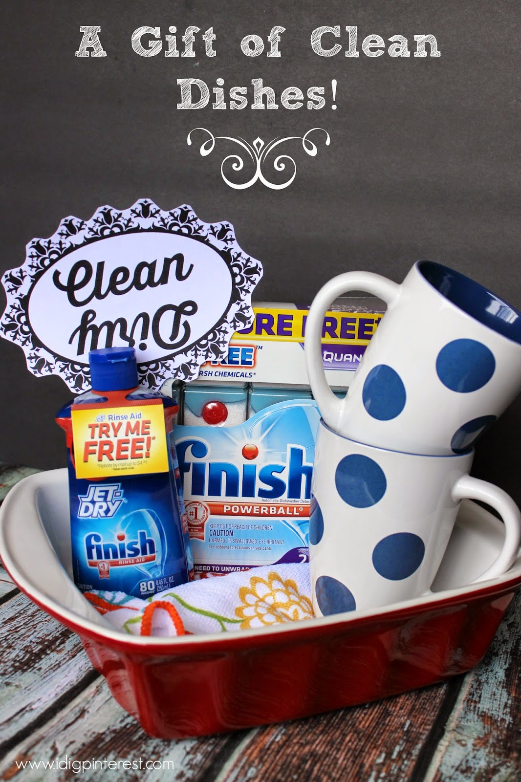 A Gift of Clean Dishes: Useful Wedding or College Gift and ...
