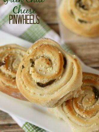 Green Chile Cheese Pinwheels: September Mystery Dish