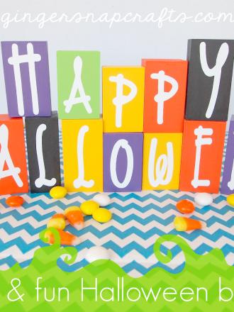 Easy & Fun Halloween Blocks
