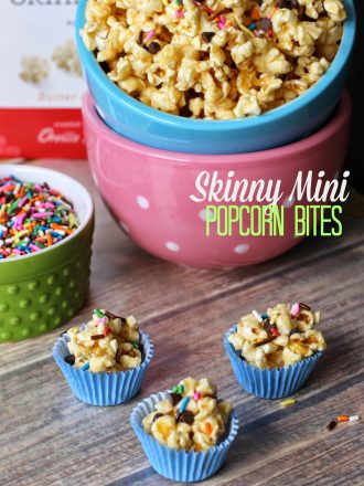 Skinny Mini Popcorn Bites with Better Ingredients