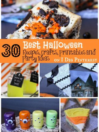 30+ of The Best Halloween Recipes, Crafts, Printables and Party Ideas