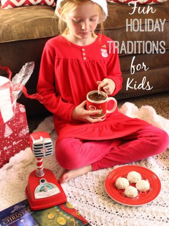 """Fun Holiday Traditions for Kids with Hallmark's """"Once Upon a Northpole Christmas"""" Book plus a Giveaway!"""