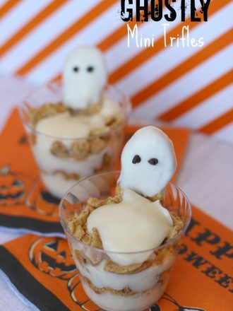 Ghostly Mini Halloween Trifles