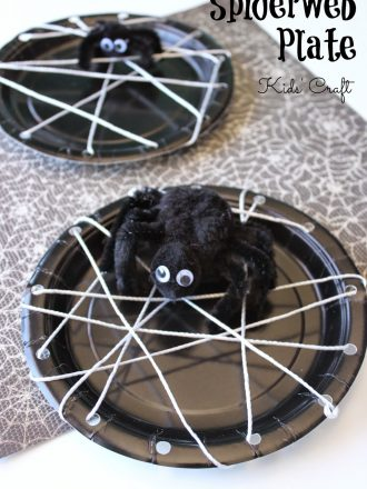 Spiderweb Plate Kids' Craft