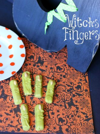 Witch's Fingers Halloween Treat