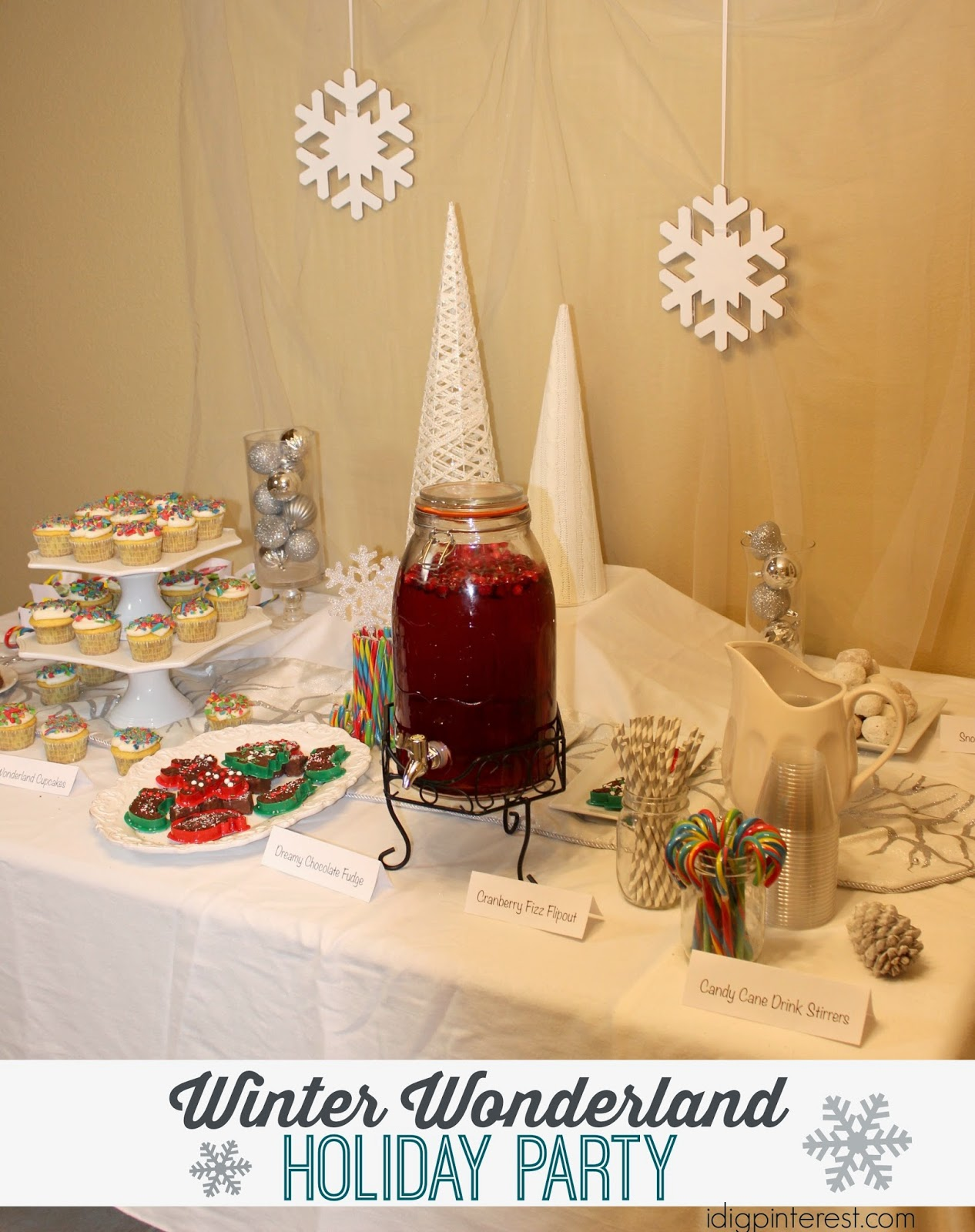 Easy entertaining ideas winter wonderland holiday party for Easy entertaining tips