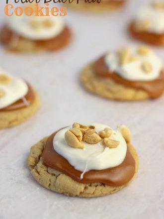 Polar Bear Paw Cookies