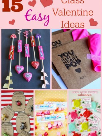 15 Easy Homemade Class Valentine Ideas