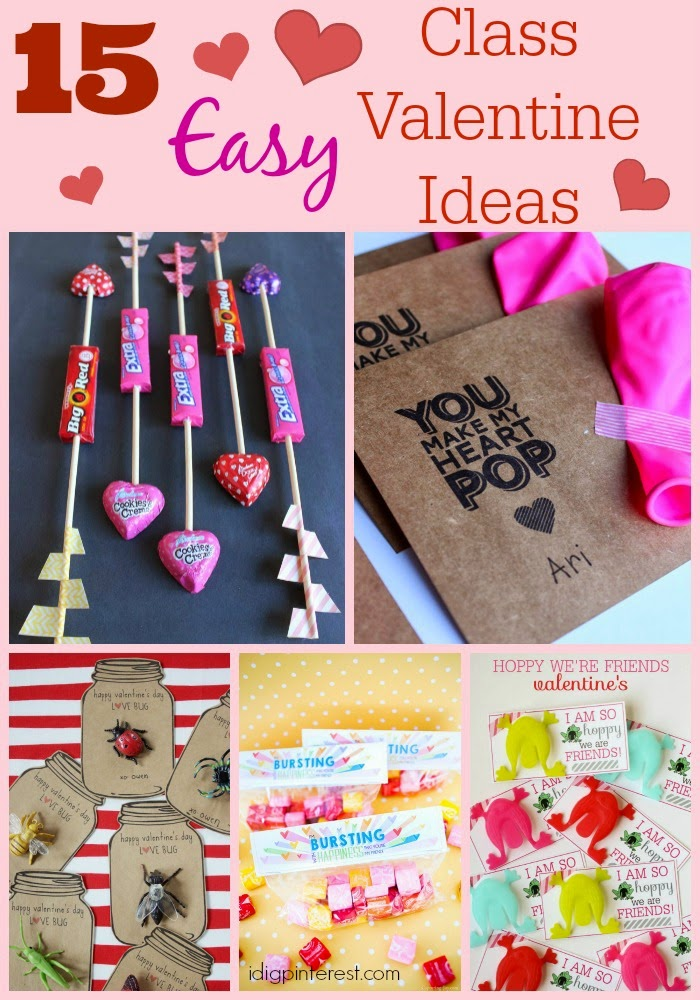 So Iu0027ve Rounded Up A Bunch Of Valentine Ideas From Pinterest That Are All  SO EASY To Pull Off In Large Quantities For Your Kidsu0027 Classes!