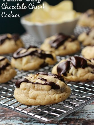 Potato Chip Chocolate Chunk Cookies: March Mystery Dish
