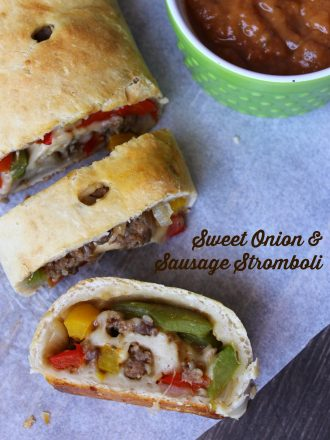 Sweet Onion & Sausage Stromboli: A Simple Meal Solution
