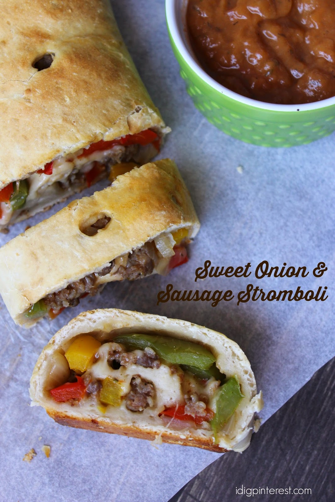 Sweet Onion & Sausage Stromboli: A Simple Meal Solution ...