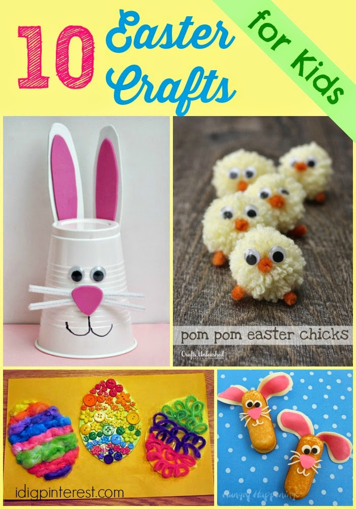 10 easy easter crafts for kids i dig pinterest