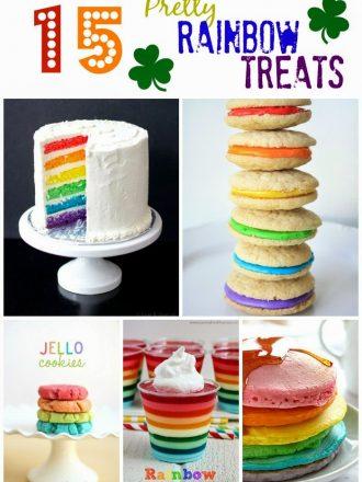 15 Pretty Rainbow Treats