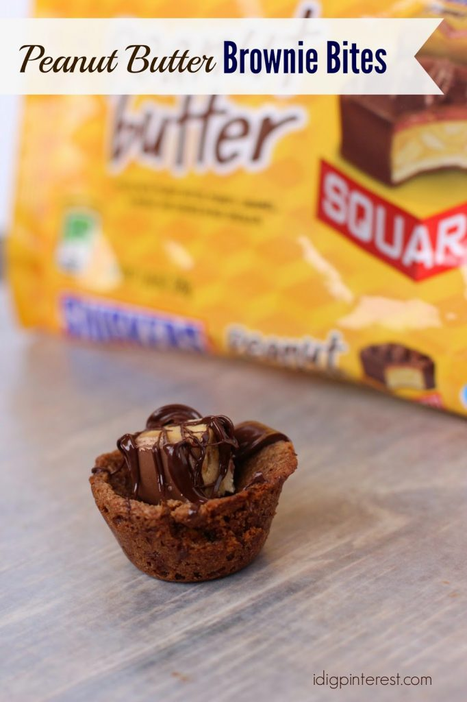 Peanut Butter Snickers Brownie Skillet Recipe — Dishmaps