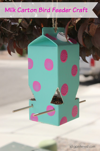 How To Make A Milk Carton Bird Feeder A Perfect Kids