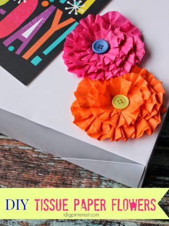 How to Make Decorative Tissue Paper Flowers
