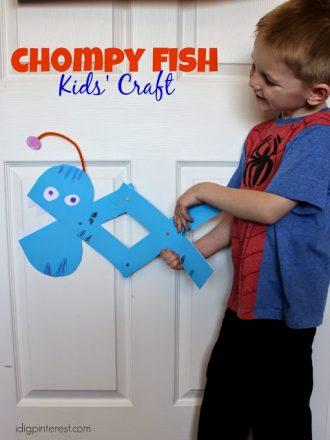 Chompy Fish Kids' Craft