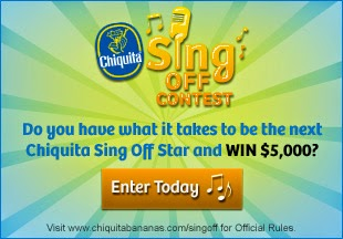 The Chiquita Banana Sing-Off and My First Ever Music Video!