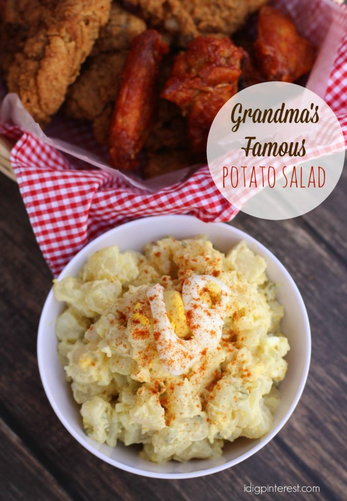 grandma's famous potato salad2