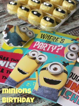 Minions Birthday Gift Idea Plus a Free Printable Minions Pictionary Game!