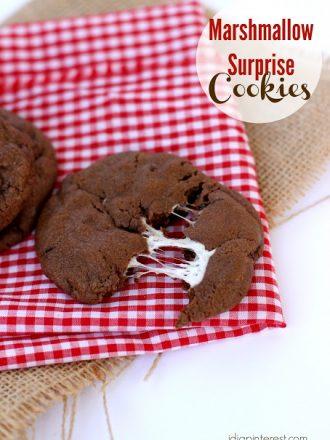 Marshmallow Surprise Cookies