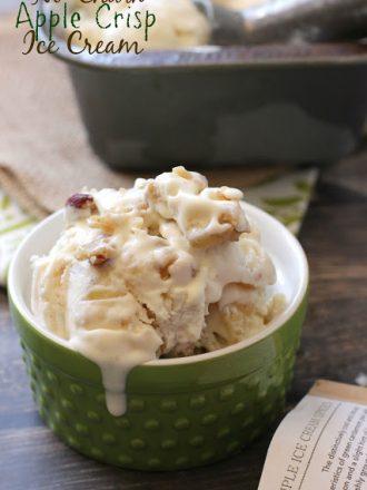 No-Churn Apple Crisp Ice Cream and Raw Spice Bar Review