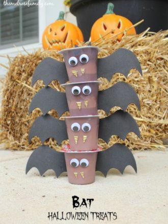 Bat Halloween Treats