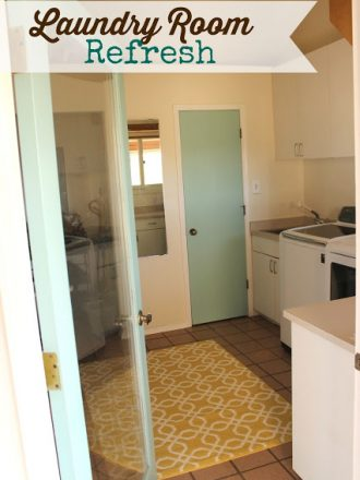 Laundry Room Refresh…The Big Reveal!