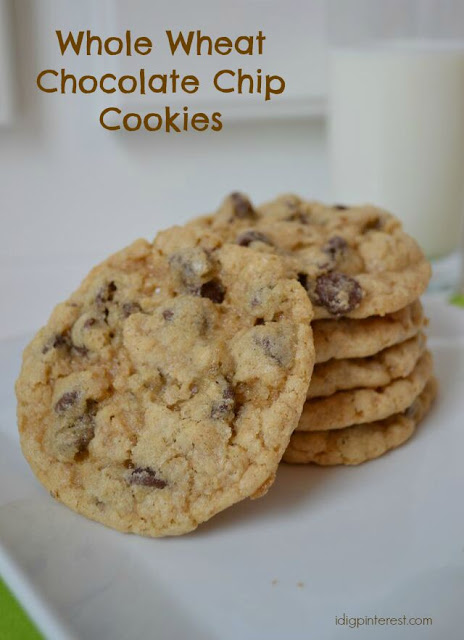 Whole Wheat Chocolate Chip Cookies, But You'd Never Know! - I Dig ...