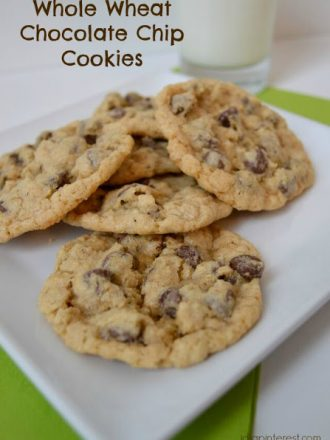 Whole Wheat Chocolate Chip Cookies, But You'd Never Know!