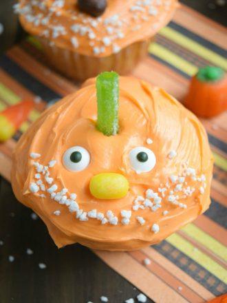 Chumpkin the Pumpkin Cupcakes