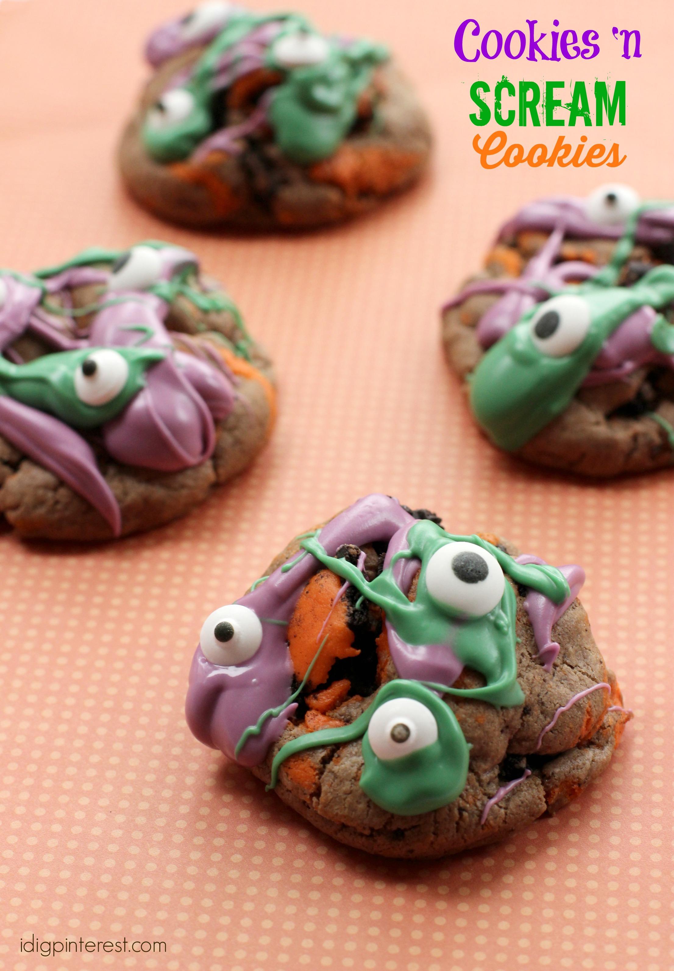 cookies 'n scream cookies1