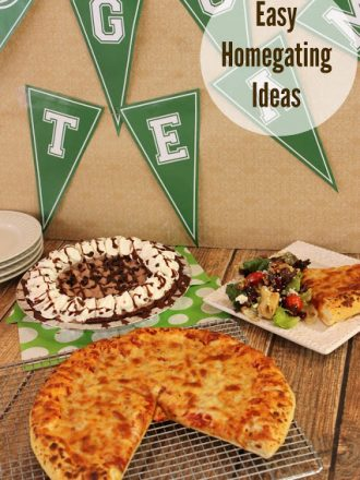 Easy Homegating Ideas Plus a Tortellini Salad with Balsamic Dressing