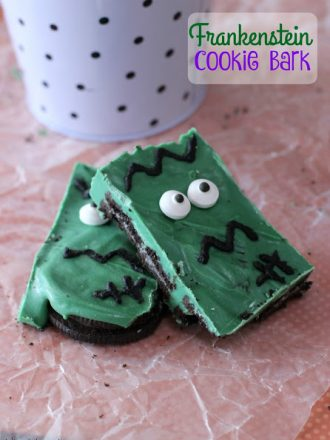 "Frankenstein Cookie Bark and ""Eye-m"" Watching You Drink Labels"