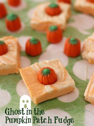 Ghost in the Pumpkin Patch Fudge
