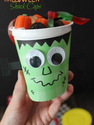 Halloween Snack Cups