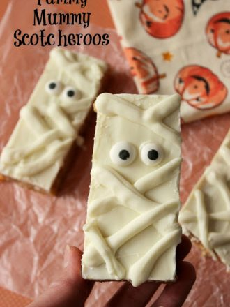 Yummy Mummy Scotcheroos