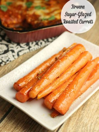 Brown Sugar-Glazed Roasted Carrots